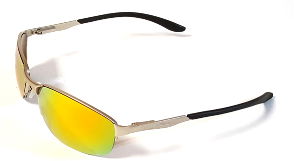 61002 Silver Fire-SpotOn Golf Sunglasses