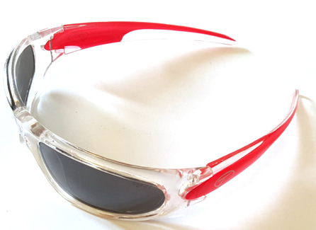 V05 Red-Park Street Sports Sunglasses