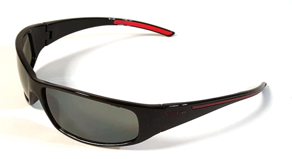 67097 Red-Wide Sports Sunglasses