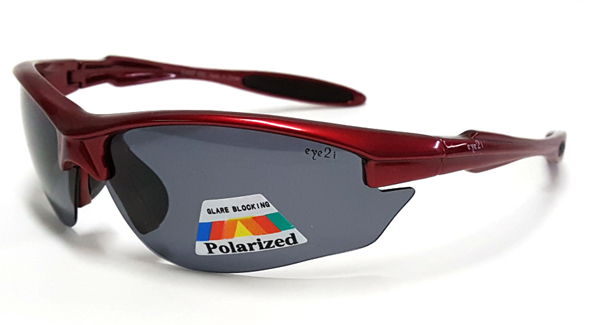 D360P Red-Courage Polarized Sunglasses