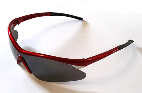 VG8 Red-Warm Up Golf Sunglasses